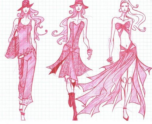 The career of a fashion designer 86