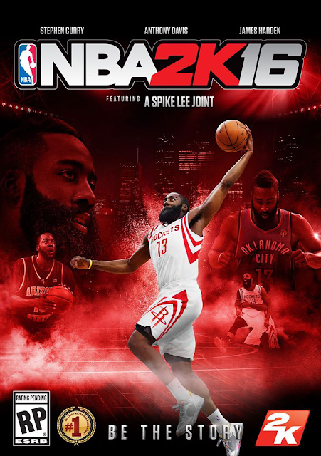 NBA 2K16 Cover James Harden