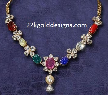 PMJ Navratan Necklace