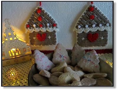 Geschenkeanhänger Lebkuchenhaus