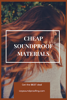 best cheap soundproofing materials