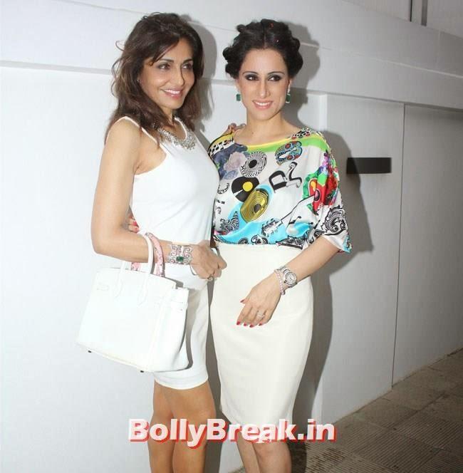 Queenie Singh and Rubal Nadi, Bollywood Page 3 Girls Pics from Rubal Nagi Birthday Brunch