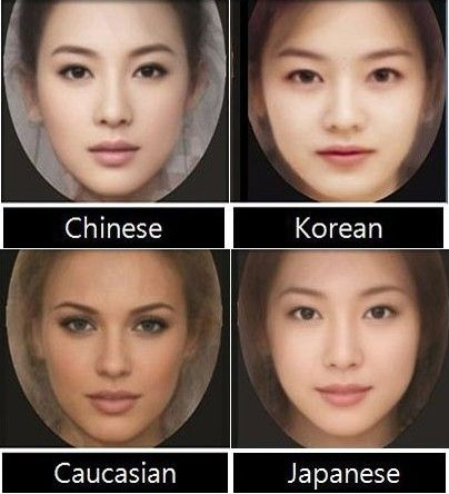 Difference In Asian Faces 17