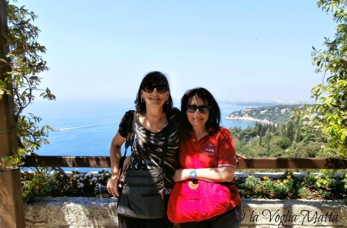 Linda e Chiara al castello di Duino