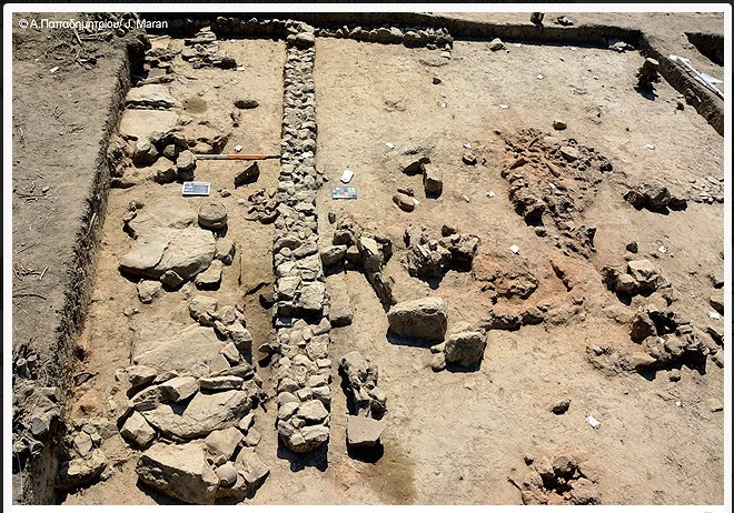 Ευρήματα στο βορειοδυτικό τμήμα της Πόλης της Τίρυνθας