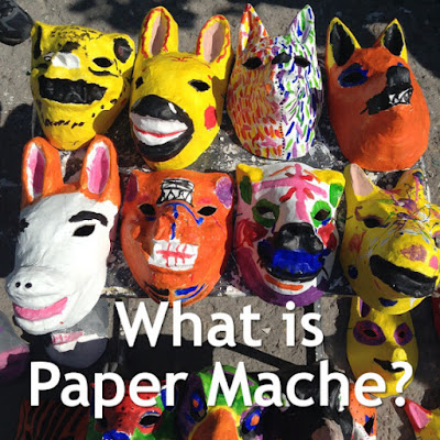 paper papier mache explanation what is it craft