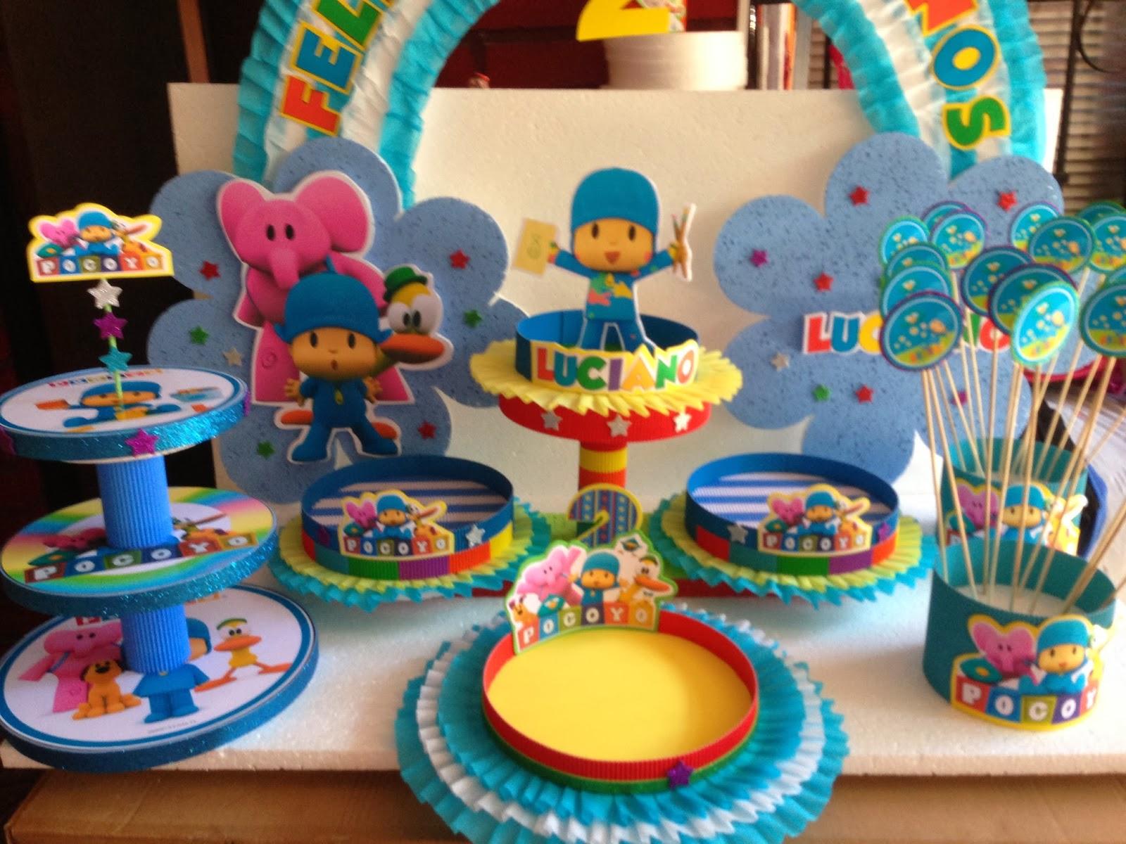 Decoraciones infantiles pocoyo - Mesas para cumpleanos infantiles ...