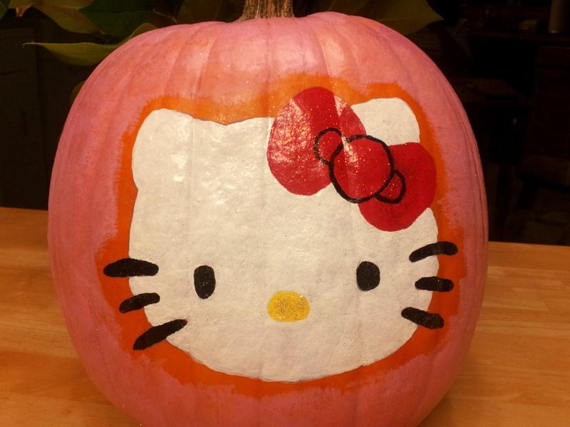 the house of kent hello kitty pumpkin rh thehouseofkent blogspot com hello kitty pumpkin template hello kitty pumpkin patch irvine