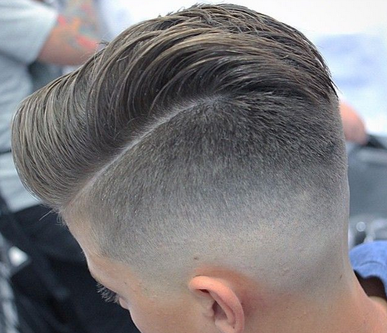 Model rambut skin cowok satu garis