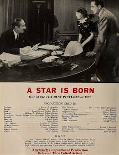 Janet Gaynor Fredric March A Star Is Born