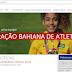 Jaguarari: Ticiane Bonfim ilustra a página de abertura da FBA na internet.