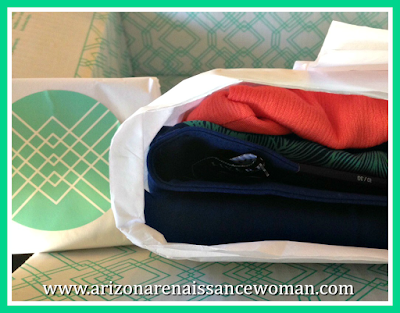 February 2016 Stitch Fix Review - In Box