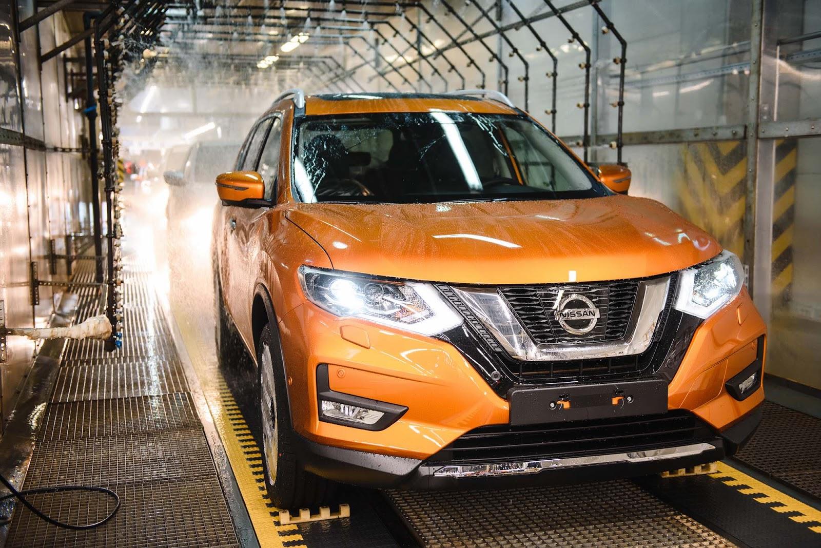 Το εργοστάσιο της Nissan στην Αγία Πετρούπολη, ξεκινά την παραγωγή του νέου X-Trail για τη Ρωσία