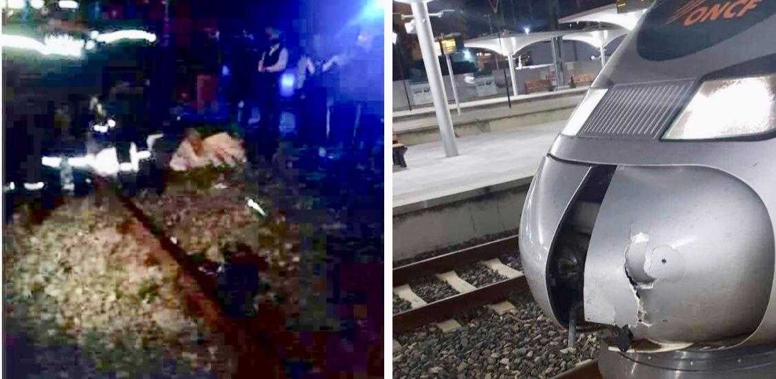 صور/تفاصيل سقوط أول ضحية للقطار السريع 'البُراق' في أمسية مُضٓببة بضواحي الرباط