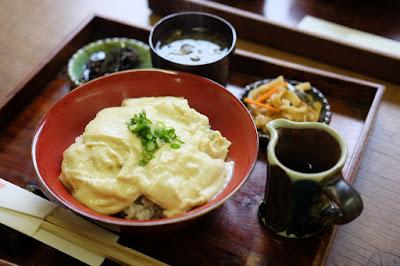 鳥取の窯元・工芸 クラフト館 岩井窯 喫茶HANA ゆば丼