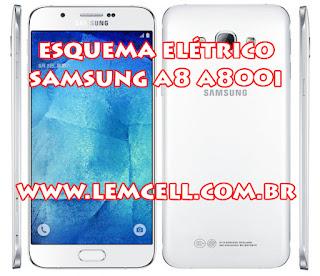 Esquema Elétrico Celular Smartphone Samsung Galaxy A8 SM A800I Manual de Serviço  Service Manual schematic Diagram Cell Phone Smartphone Samsung Galaxy A8 SM A800I