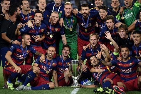 Barca tạo nên những kỳ tích vào năm 2015