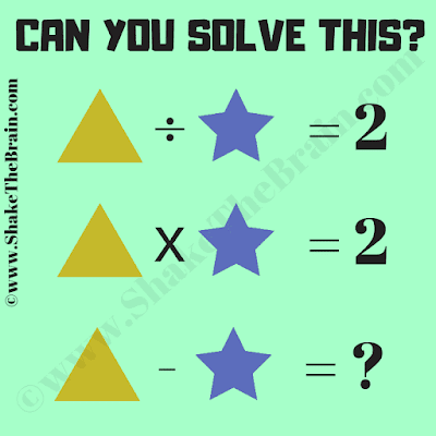 Can you solve the given maths equations and then solve the last equation?