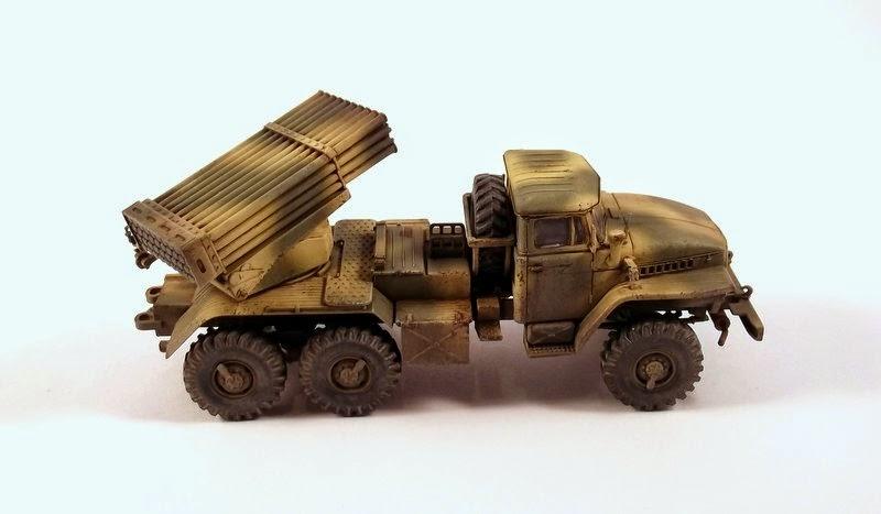 gulumik military models bm 21 grad 1 72 icm gallery. Black Bedroom Furniture Sets. Home Design Ideas