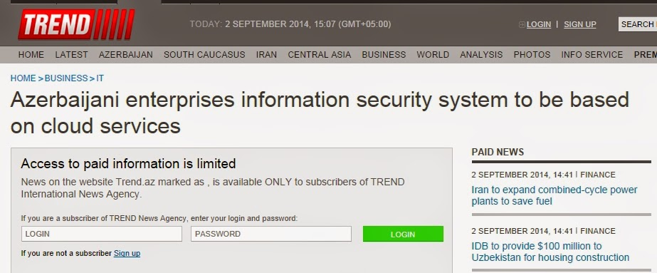 Azerbaijan is moving towards Managed Security Services (MSS