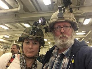 military night vision helmets