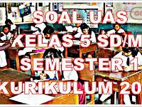 Soal UAS Kelas 5 SD Semester 1 Dan Kunci Jawaban