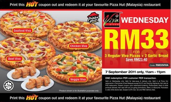 "Pizza Hut Wednesday Offer: Its Wednesday again & it's time for a pizza treat again. Pizza Hut, one of the Indias's favorite pizza store is live with its most awaited offer of the week called ""Pizza Hut Wednesday Offer"". Today Pizza Hut is offering 50% Discount on Medium Pan Pizzas & 30% off on any Medium Stuffed [ ]."