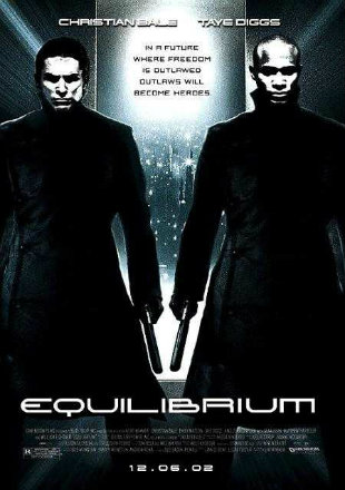 Equilibrium (2002) Dual Audio Hindi 720p BluRay x264 850MB