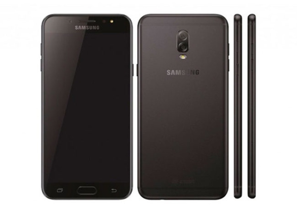 The Samsung Galaxy J7 + with dual camera