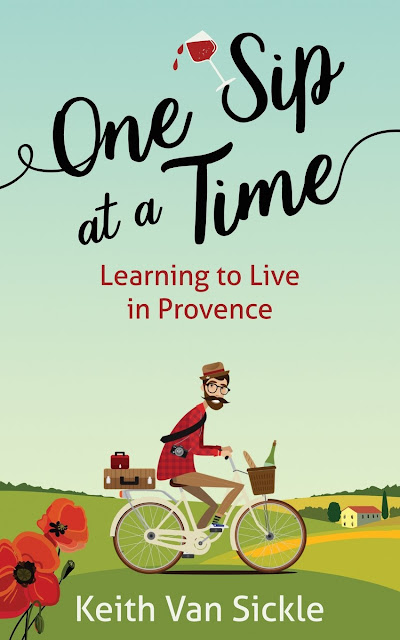 One sip at a time. Learning to live in Provence - Book review