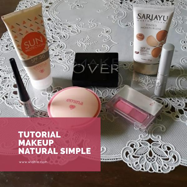 Tutorial Make -up Natural Simple