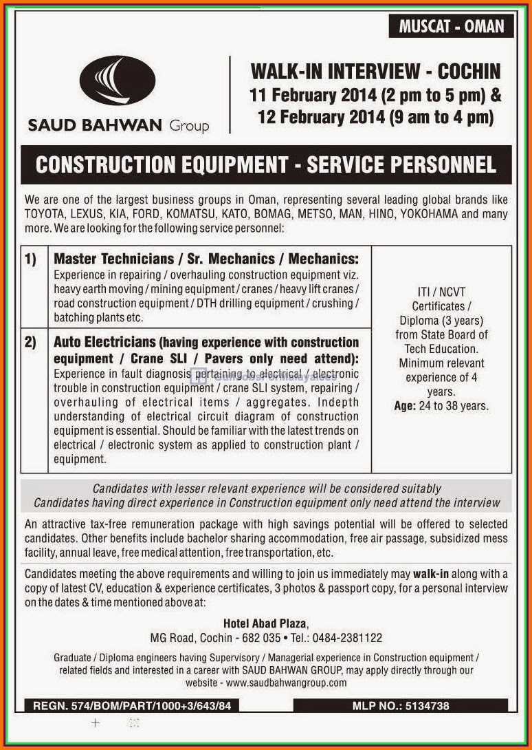 Muscat OMAN Job Vacancies - Gulf Jobs for Malayalees