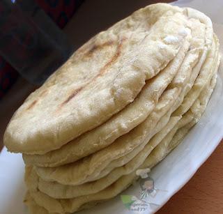 Homemade Shawarma bread in a pan, Nigerian Shawarma, Nigerian Food TV