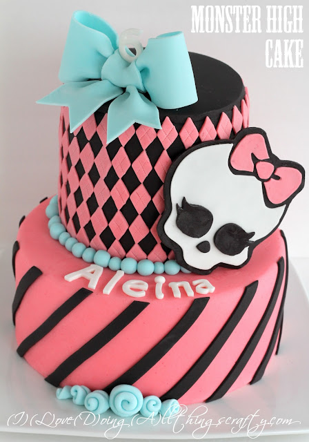 Monster High Cake for Aleina