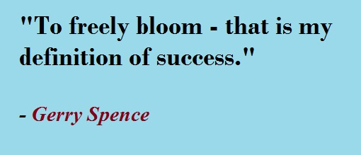 "Gerry Spence Quotes on ""success"""
