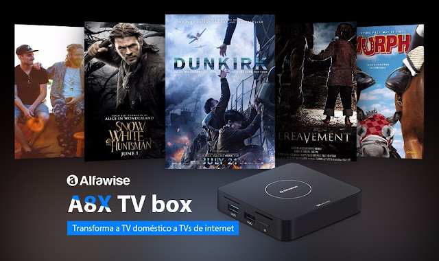 Alfawise A8X TV BOX
