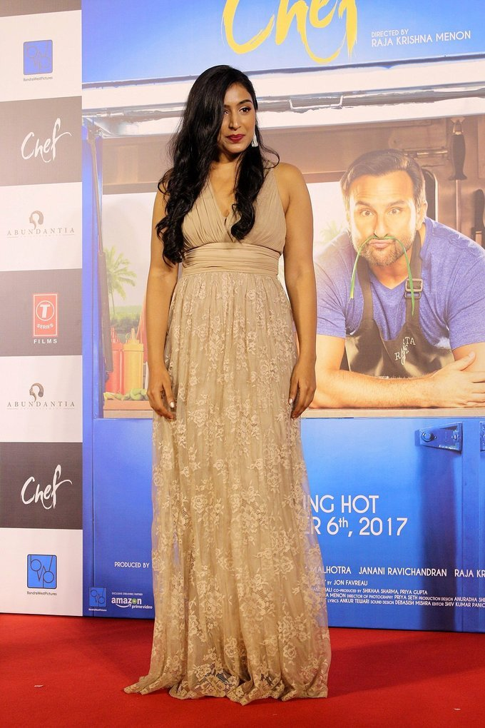 Padma Priya at Trailer Launch Of Film Bollywood film Chef Photos