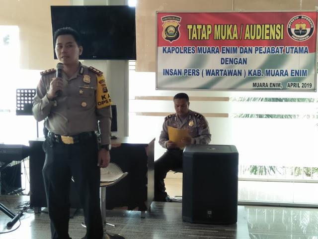 Polres Muara Enim, Ajak Masyarakat Dalam Berantas Narkoba
