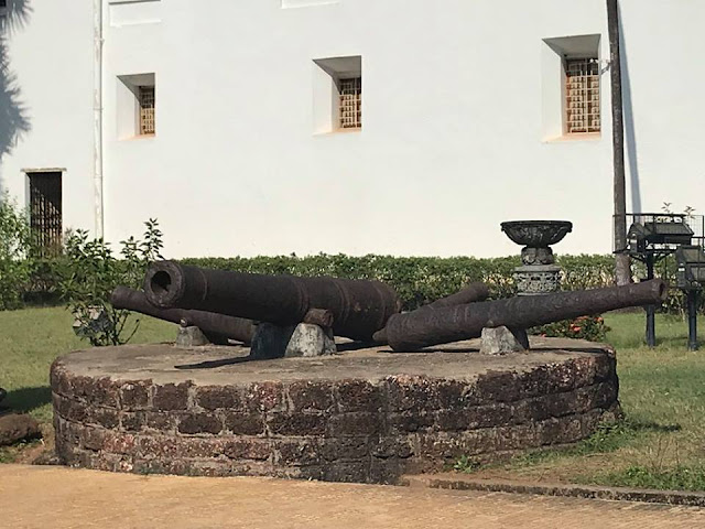 Cannons of Church Of St. Francis of Assisi