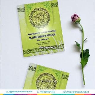 Paket Souvenir Tahlilan Murah, 0813-2666-1515