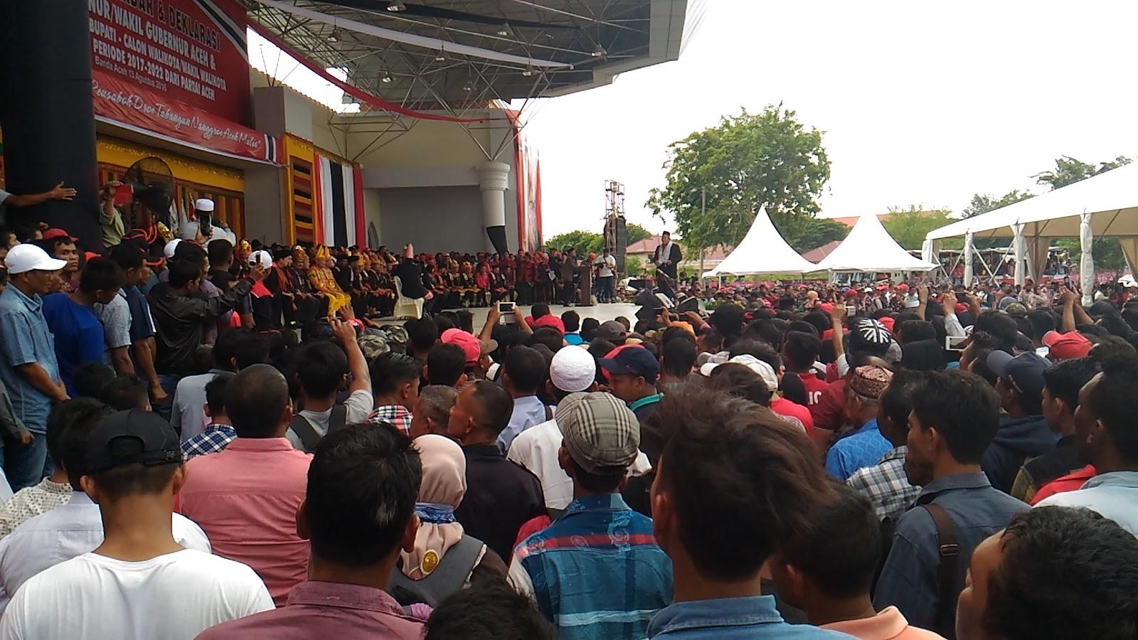 Inilah Calon Kepala Daerah Yang Diusung Partai Aceh Pada Pilkada