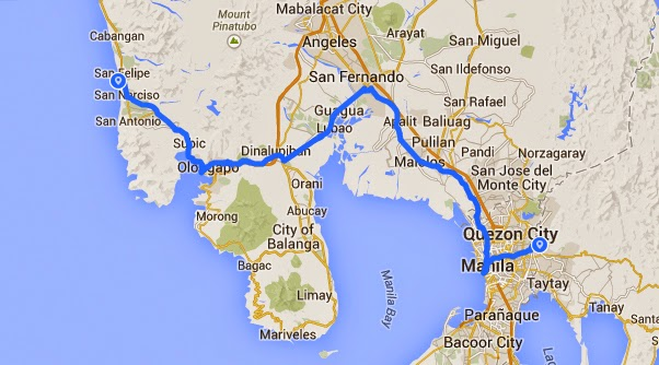 Philippines On A Bicycle To Zambales And Back Again