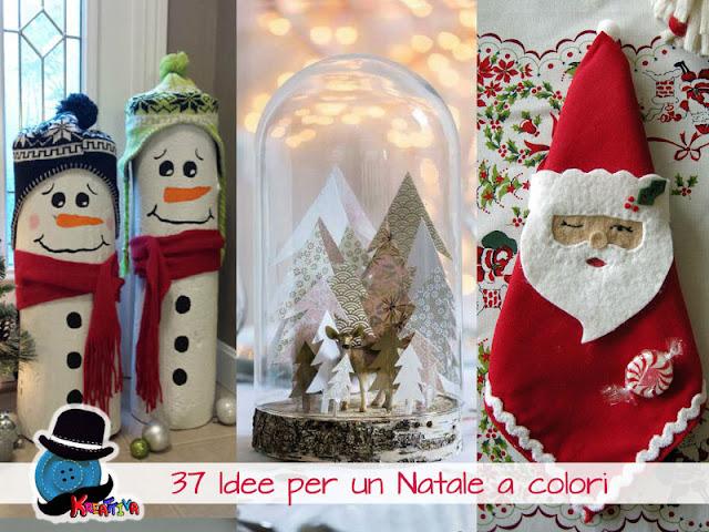 Decorazioni di Natale Bianco e Rosse