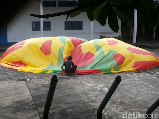 Pelaku Terbangkan Balon Udara Dapat Ditindak Karena Membahayakan Pesawat