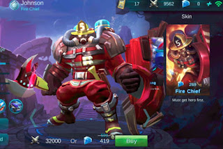 Cara Top Global Menggunakan Hero Johnson Mobile Legends