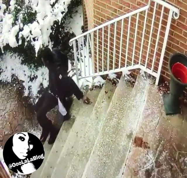 "WATCH! Meek Mill Busted His A** Falling Down Icy Steps: ""They spoke a 'L' into existence"""