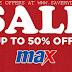 MAX FASHION KUWAIT - SALE UP TO 50% OFF