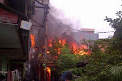 Miris, Ditengah Puasa, Warga Duren Sawit dan Cipinang Muara Alami Musibah Kebakaran.