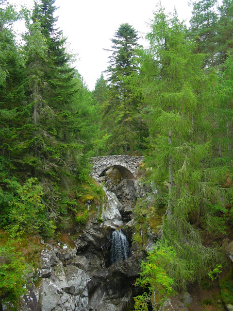 Falls of Bruar, Cairngorms, Perthshire, Scotland, Escòcia, Regne Unit, United Kingdom