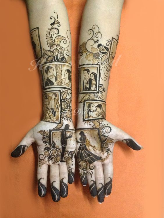 13 Unique Henna Designs Doing The Rounds This Wessing: Top 10 Unique Henna Designs For Your Mehndi